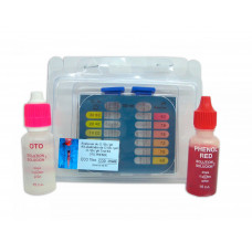 Estuche Test Kit cloro y PH Plus líquido